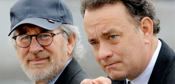 Steven Spielberg & Tom Hanks