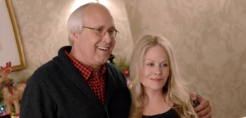 Chevy Chase and Beverly D'Angelo