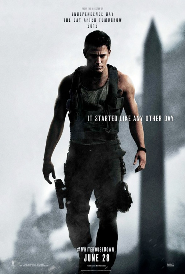 White House Down - Tatum Poster