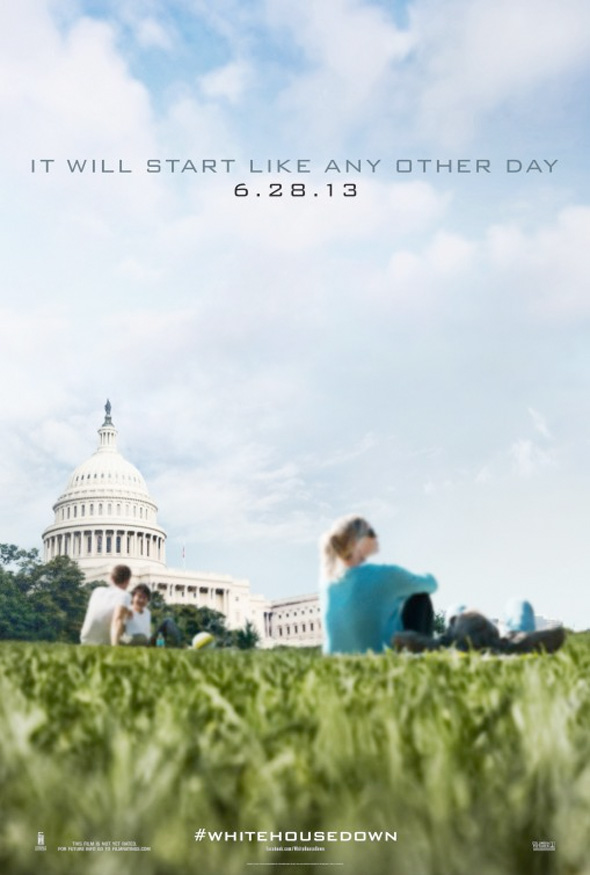 White House Down - Second Teaser Poster