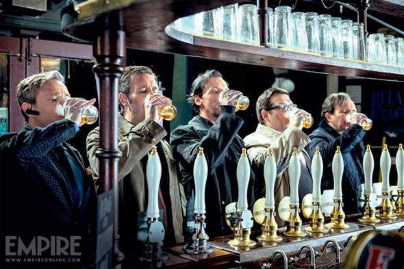 The World's End - Drinking