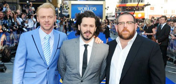 Edgar Wright, Simon Pegg & Nick Frost