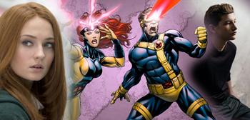 Sophie Turner / Cyclops & Jean Grey / Tye Sheridan