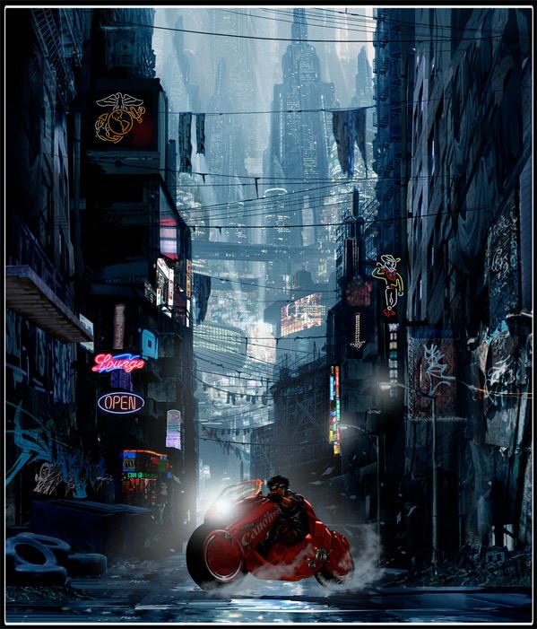 Akira - Ruairi Robinson Concept Art