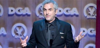 Alfonso Cuarón - Directors Guild Awards 2014