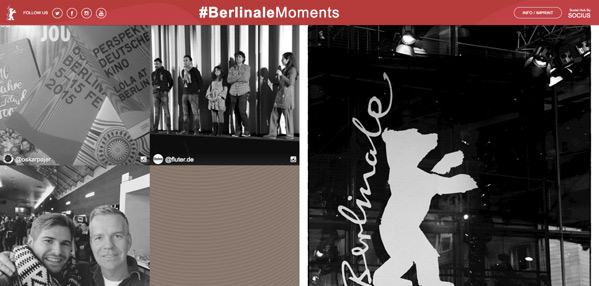 Berlinale Moments Website