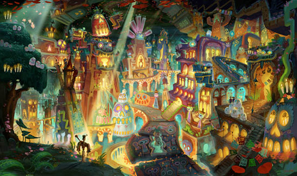 Jorge R. Gutierrez's The Book of Life Concept Art
