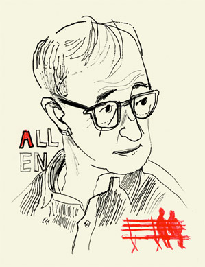 Woody Allen Portrait