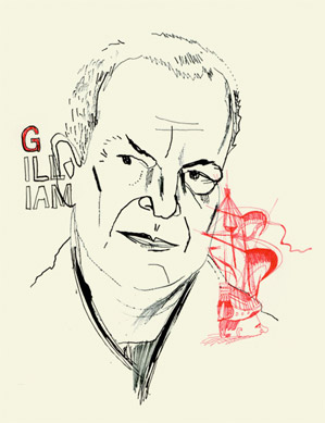 Terry Gilliam Portrait