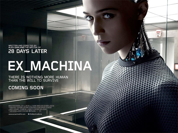 Ex Machina UK Poster