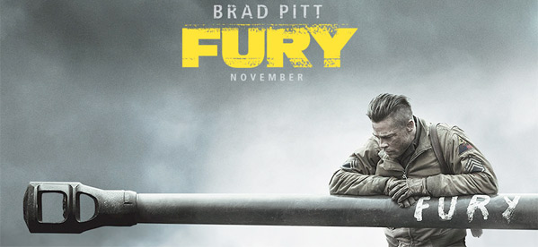 Fury Teaser Poster