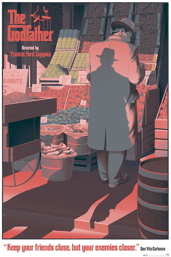 Laurent Durieux's The Godfather: Part I Print