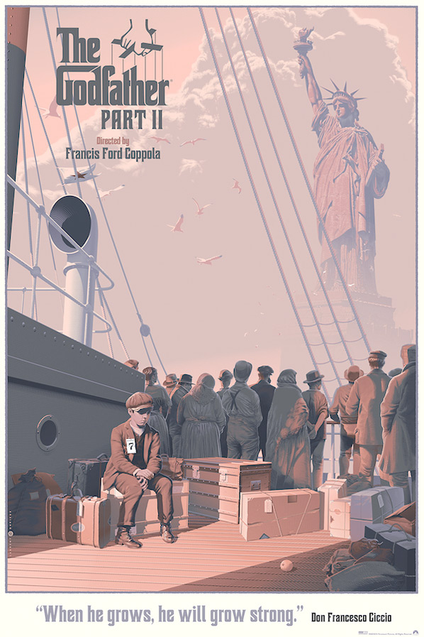 The Godfather Part 2 - Art by Laurent Durieux