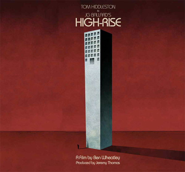Ben Wheatley's High-Rise Teaser Poster