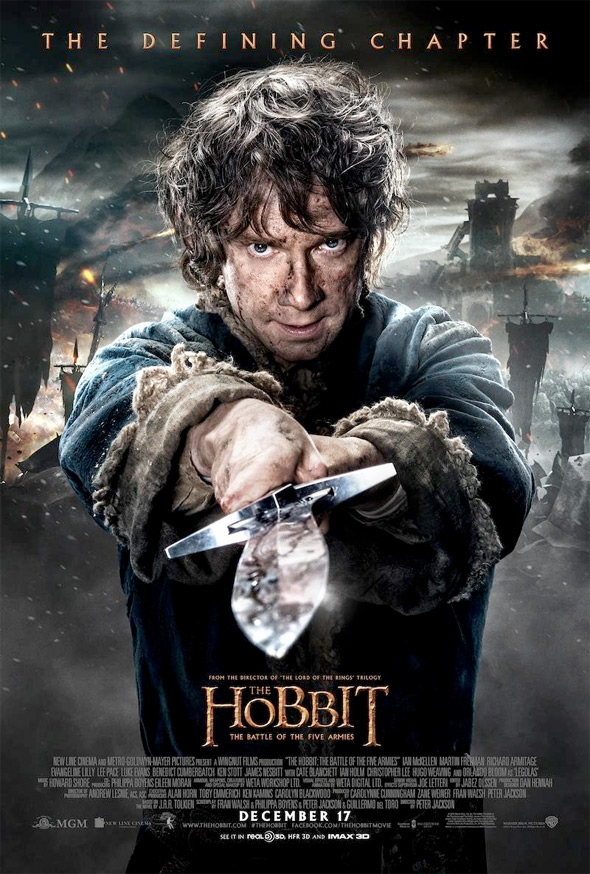 The Hobbit: The Battle of Five Armies - Bilbo Baggins