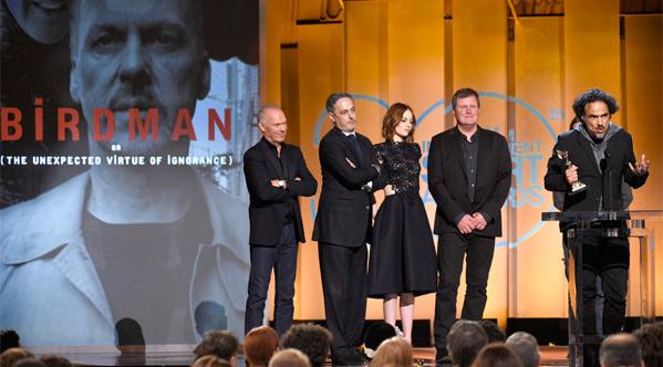 Winners: Alejandro G. Iñárritu's Birdman is Best Feature