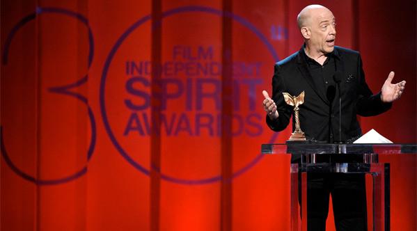 Winner: J.K. Simmons for Best Supporting Male in Whiplash