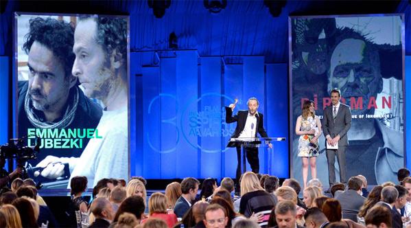 Winner: Emmanuel Lubezki for Best Cinematography