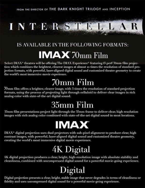Interstellar Screening Guide