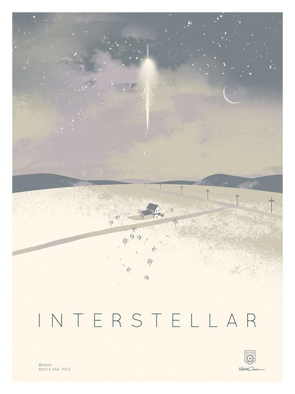 Kevin Dart's Interstellar IMAX Print