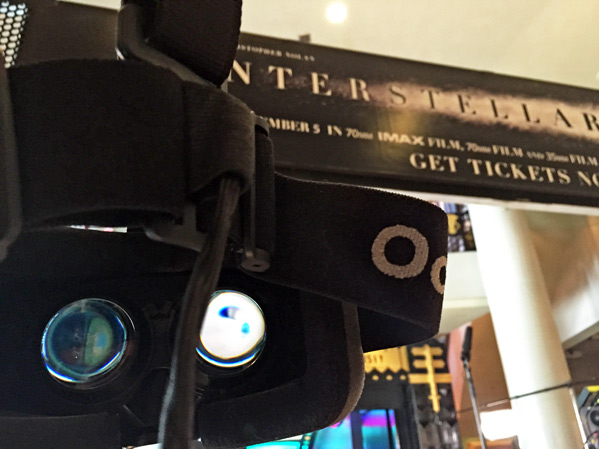 Interstellar Oculus Rift Experience