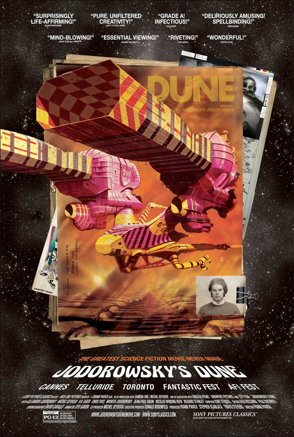 Jodorowsky's Dune Doc Poster