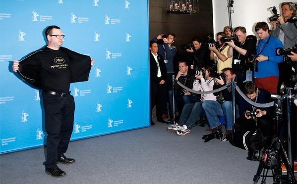 Lars von Trier - Persona Non Grata Shirt - Berlinale Premiere