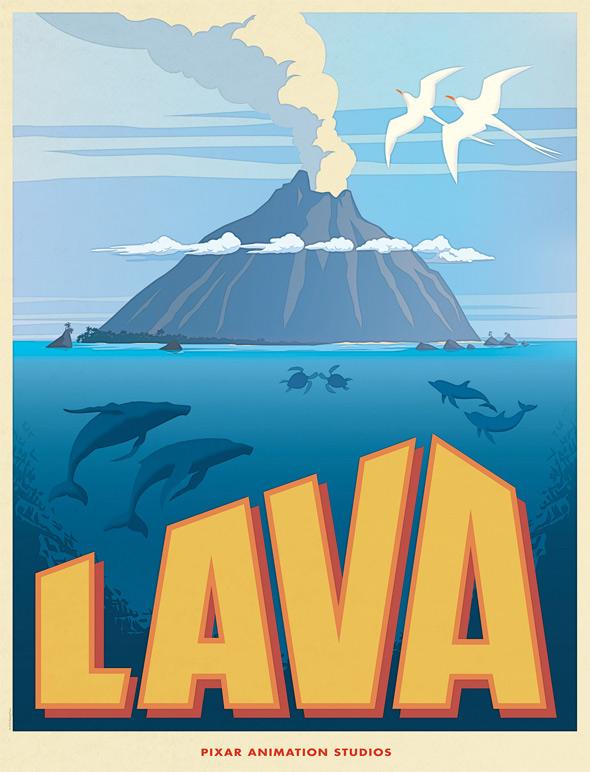 Pixar's Lava Poster