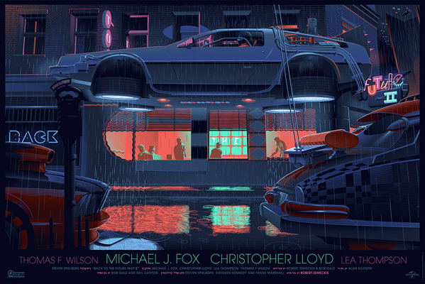 Laurent Durieux's Back to the Future Part 2 Poster