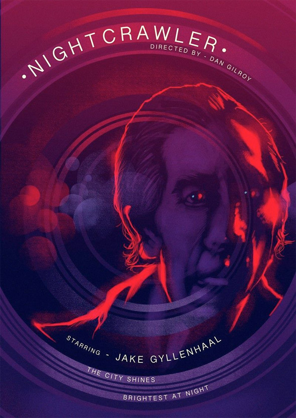 Nightcrawler Alternative Poster Art