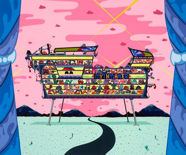 Darren Aronofsky Noah Art Show