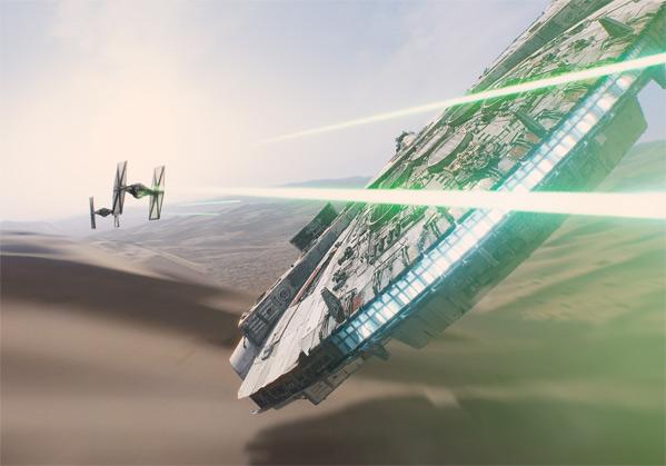 Millennium Falcon IMAX