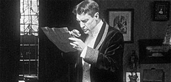 William Gillette's Sherlock Holmes
