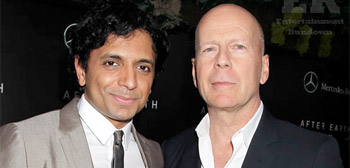 M. Night Shyamalan & Bruce Willis
