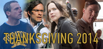 Thanksgiving Week Movie Guide 2014