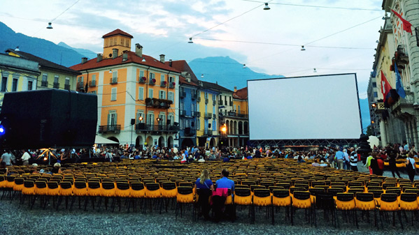 Piazza Grande - Locarno Photo
