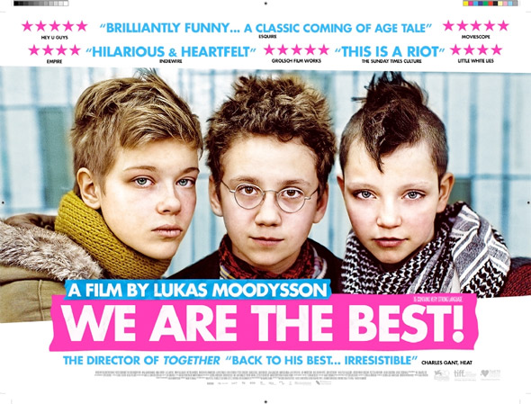 We Are the Best UK Quad Poster