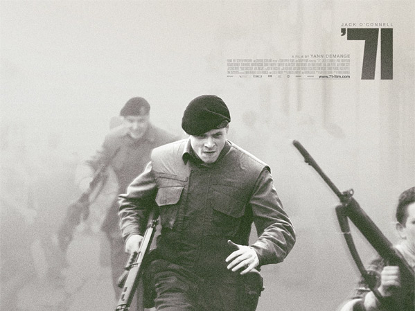 Yann Demange's 71 Poster - Quad #1