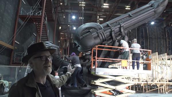 Adam Savage - Alien: Covenant Set