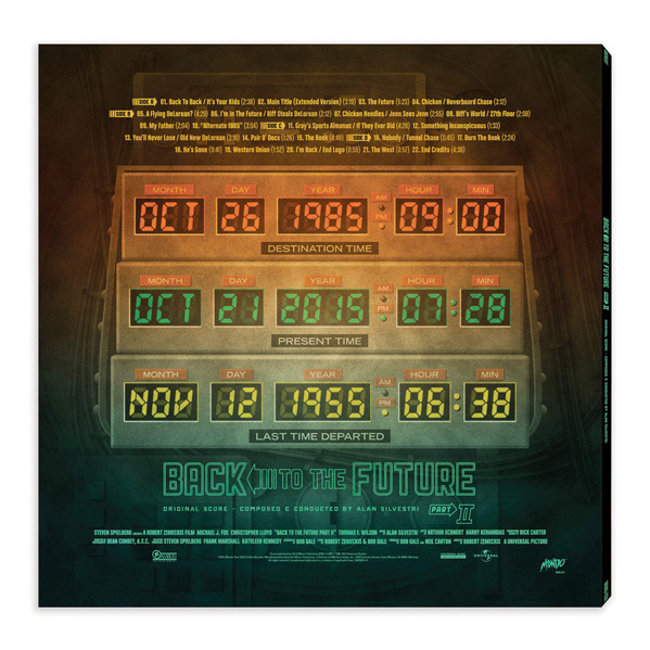 Mondo Vinyl Back to the Future II