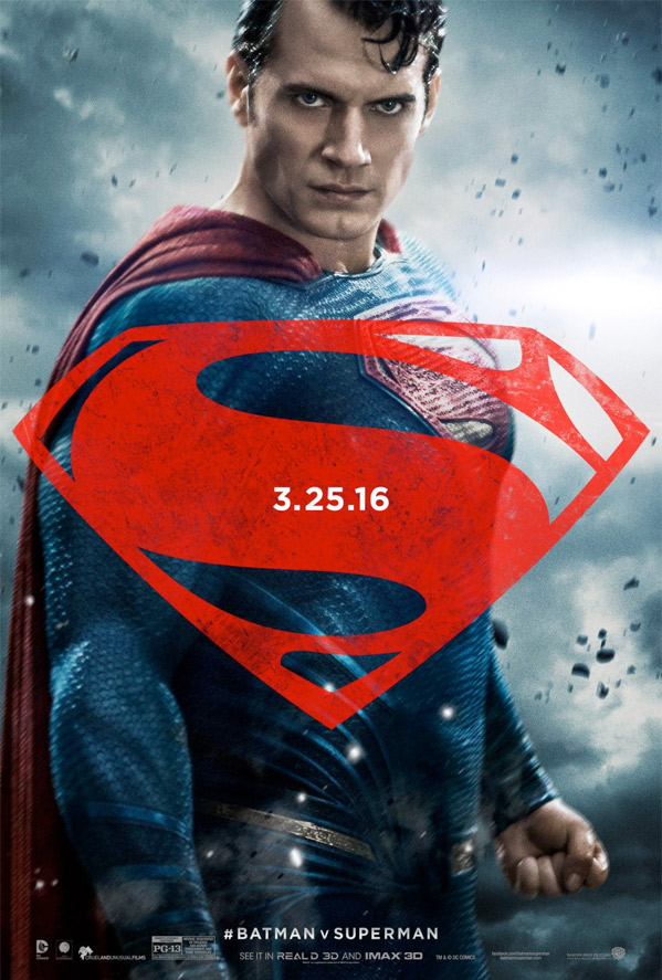 Batman v Superman - Character Poster - Superman