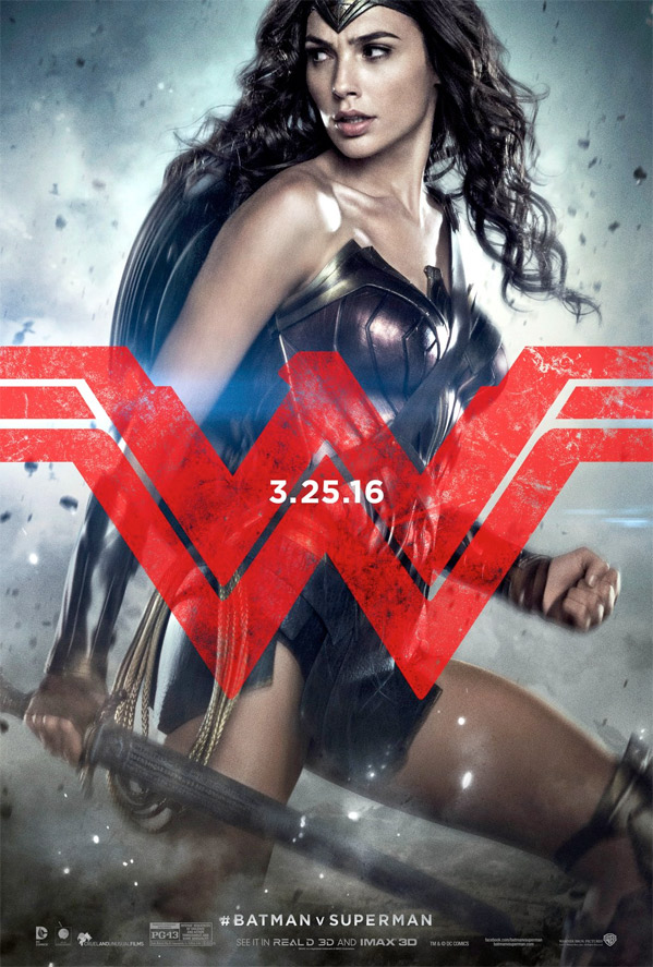 Batman v Superman - Character Poster - Wonder Woman