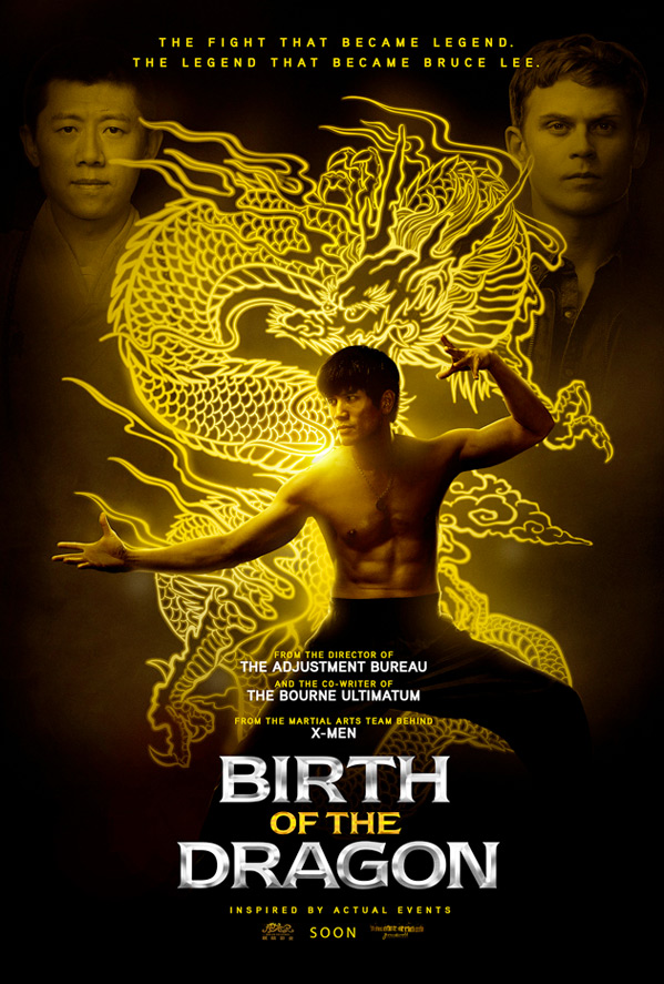 Birth of the Dragon Poster.