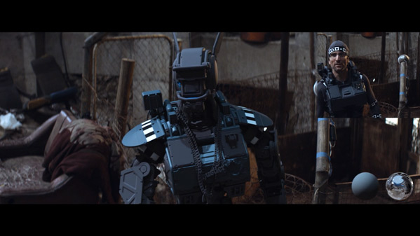 Chappie VFX Breakdown
