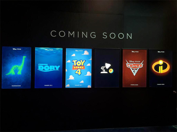 Pixar Posters - Pixar Posters - Cars 3 + The Incredibles 2
