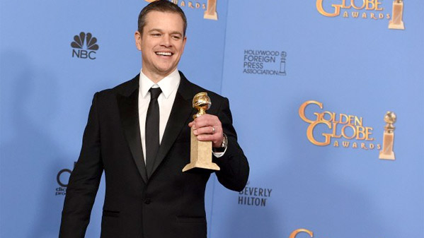 Matt Damon - The Martian - Winner