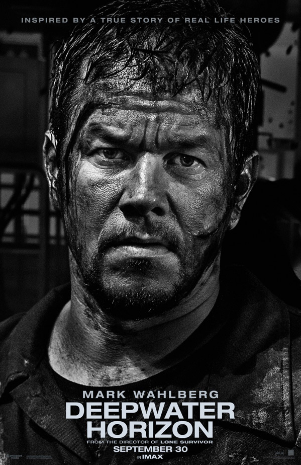 Deepwater Horizon Poster - Mark Wahlberg