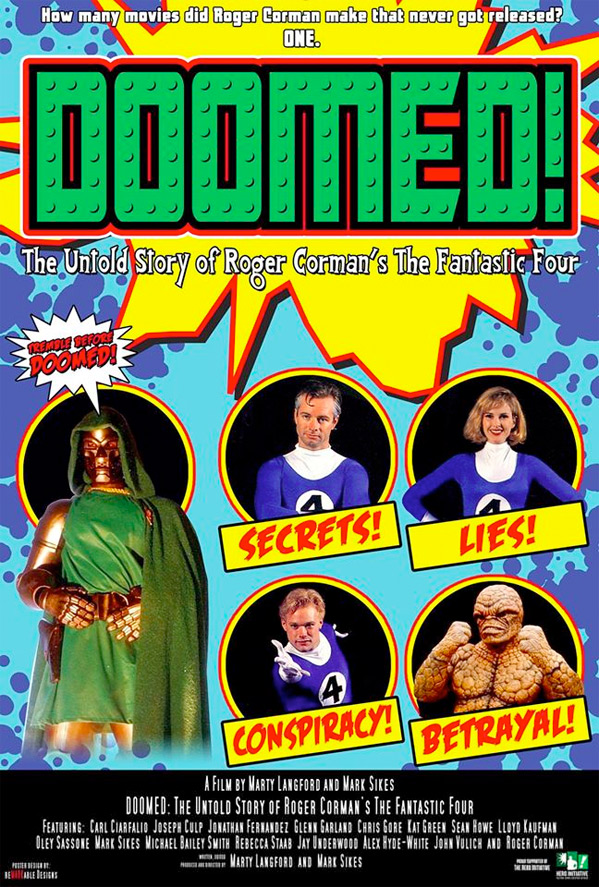 Doomed: The Untold Story of Roger Corman's The Fantastic Four Poster