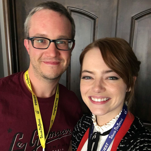 Alex Billington & Emma Stone