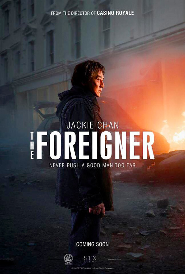 The Foreigner Poster
